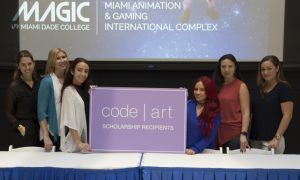 2016 Code Art Miami Scholarship Recipients @ MAGIC
