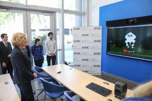 US Secretary of Education Betsy Devos visits Miami Dade College MAGIC